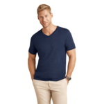 Mens 'V' Neck Standard Fit T-shirt