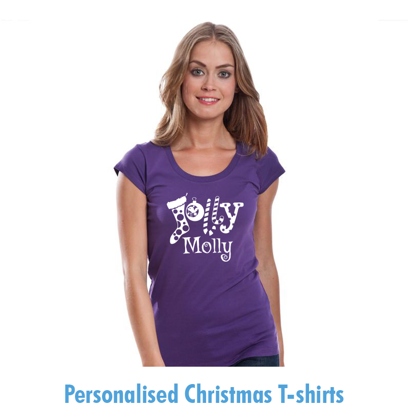 Personalised Christmas Tshirts